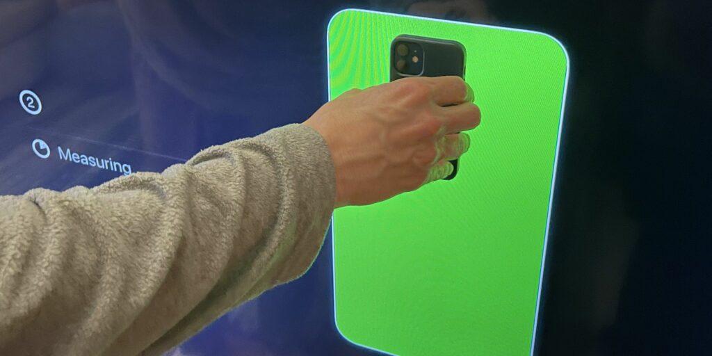 Farbkalibrierung mit iPhone
