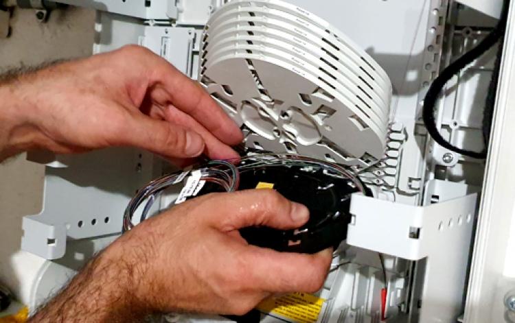 Glasfaser-Splitter von Cablex für XGS-PON